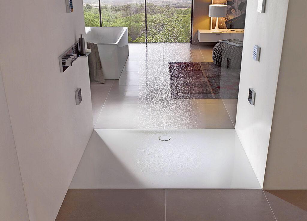 Dusche modern
