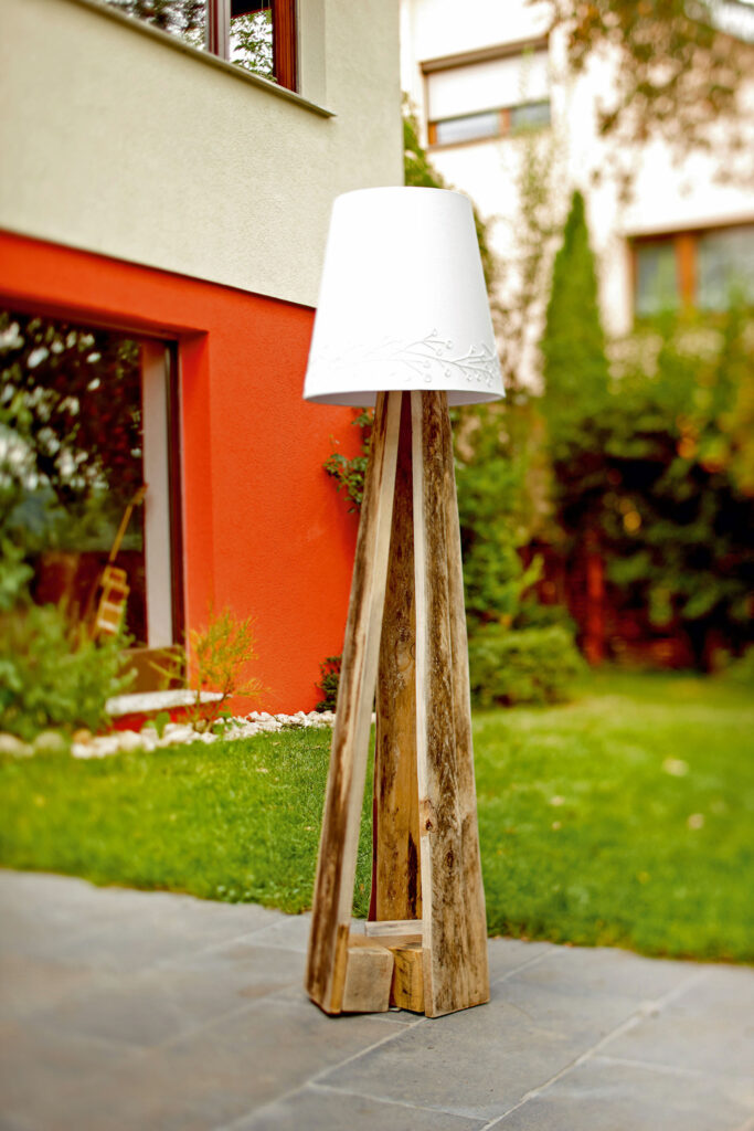 Palette Stehlampe