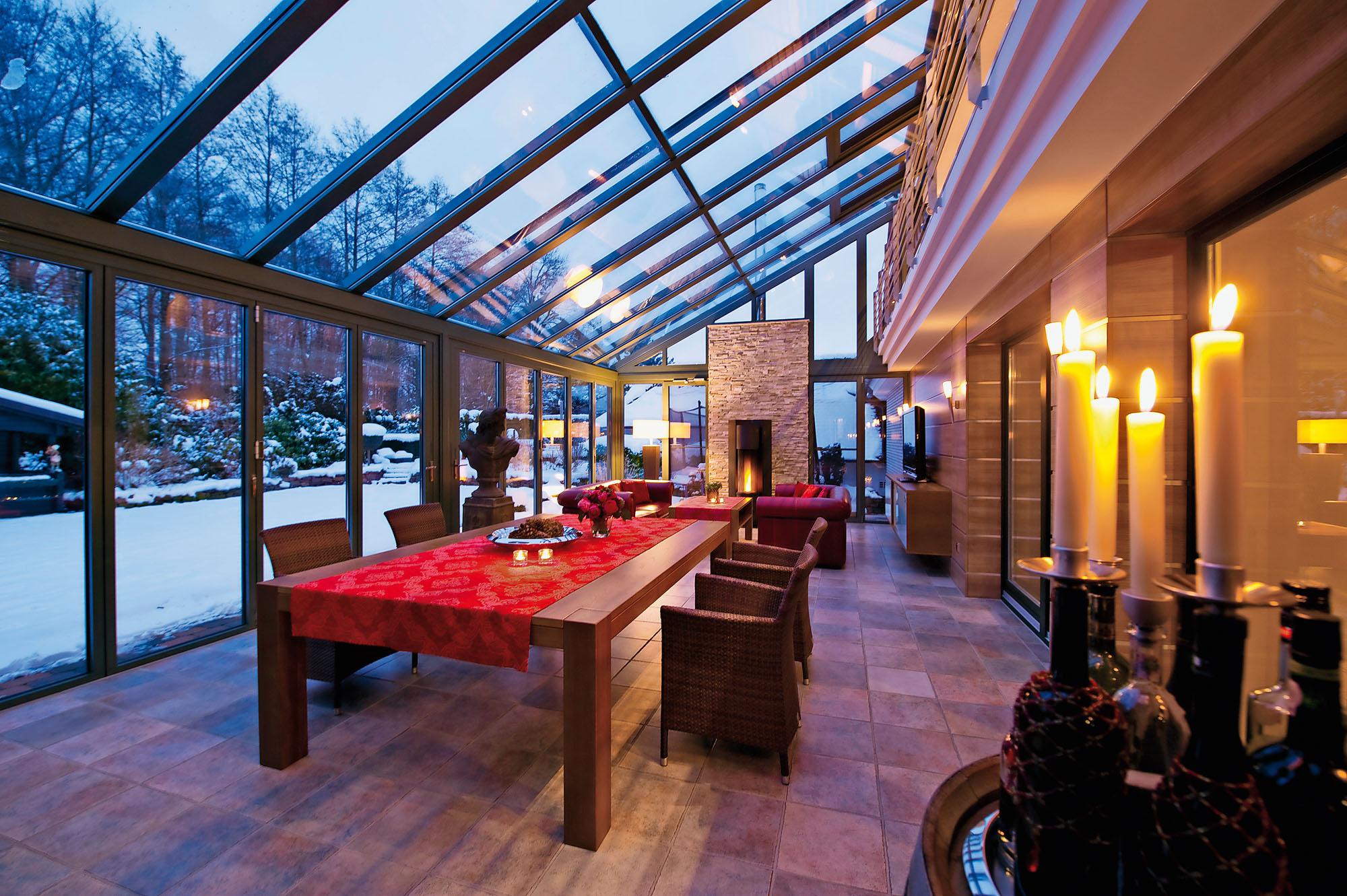 Wintergarten Winter